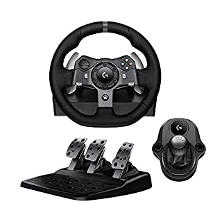 Logitech G920 Driving Force Racing Wheel & Pedals Plus Gear Shifter Bundle (Xbox One & PC) UK-Plug (B01LSKDGVA) | Amazon Products