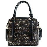 KLXEB Frauentasche Wilde Einzelne Schulter Kuriertasche, Die Große Kapazität Handtasche Druckt
