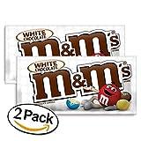 M&M's White Chocolate (weiße Schokolade) | 2 Pack (2x 42.5g)