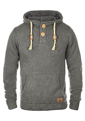 Solid  Pit Mens Hoodie, size:XL;colour:Grey Melange (8236)