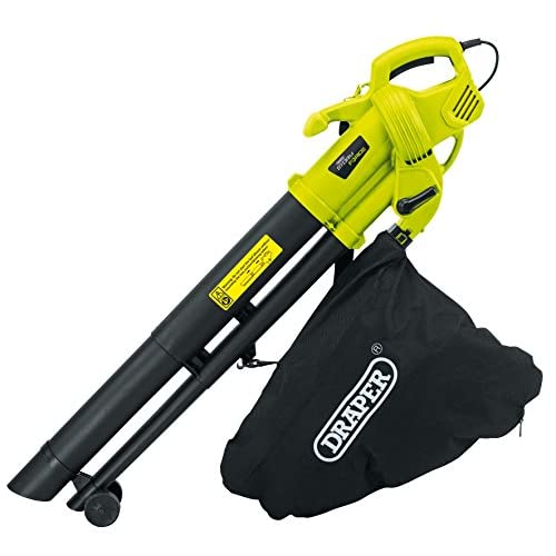 Draper 82104 Storm Force Garden Vacuum/Blower/Mulcher (3000W), 230 V, Multicoloured