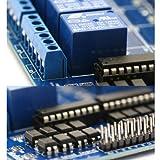 SainSmart 16-Kanäle RelaisModul Brett 12V Für Arduino PIC AVR DSP MCU Relay Module Test