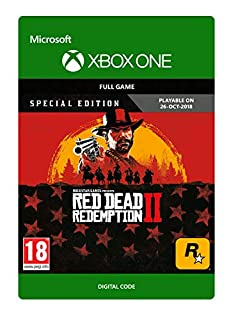 Red Dead Redemption 2: Special Edition   Xbox One - Download Code (B07J59R4TC)   Amazon price tracker / tracking, Amazon price history charts, Amazon price watches, Amazon price drop alerts