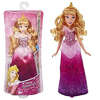 Hasbro Disney Prinzessin B5290ES2 - Schimmerglanz Aurora, Puppe
