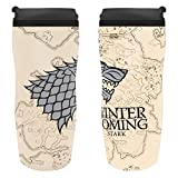 Game Of Thrones House Stark - Winter Is Coming Thermobecher Mehrfarbig