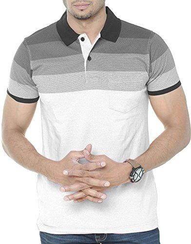 Wexford Men's Cotton Polo Neck Half Sleeve Casual T-Shirt