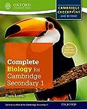 Complete biology for Cambridge IGCSE secondary 1. Checkpoint-Student's book. Per la Scuola media. Con espansione online