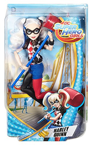 DC Super Hero Girls DLT65 - Bambola Harley Queen Super Hero Girls