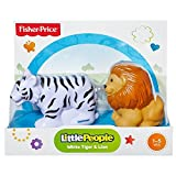 Fisher-Price Little People Zoo Animal - Weißer Tiger und Löwe
