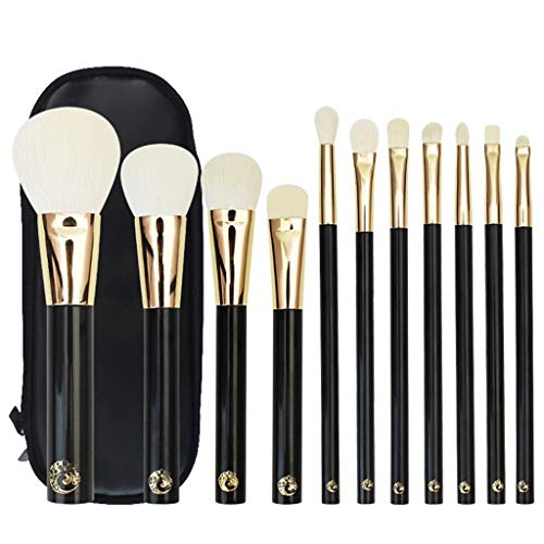 HGbeauty Make-up Pinsel Set 11-TLG. Make-up Pinsel Kosmetik Professional Essential Beauty Brushes