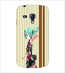 PrintDhaba Cute Doll D-3784 Back Case Cover for SAMSUNG GALAXY S3 MINI (Multi-Coloured)
