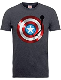 Marvel Comics Captain America Kids Grey T-shirt Official Disney Licensed Movie