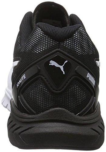 Puma Ignite Dual Wn's, Chaussures de Running Compétition Femme Noir (Puma Black-puma White 02)