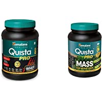Himalaya Quista Pro Advanced Whey Protein Powder - 1kg (Chocolate) & Himalaya Quista Pro MASS For Weight Gain - 1kg…