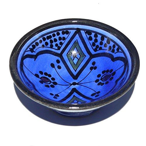 Orientalische Keramik Geschirr Schüssel Schüsselchen Schalen für Dip und Oliven ø 10 cm Modell Nisa