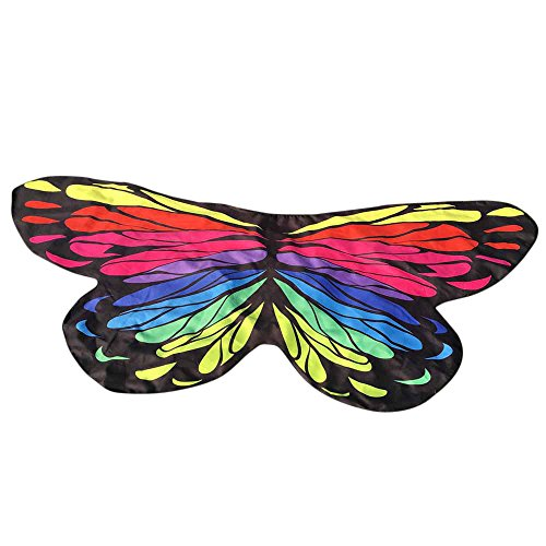 MMOOVV Butterfly Wings Ms. Soft Fabric Shawl Fairy