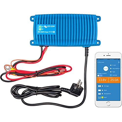 Victron Blue Smart 12/17 IP67 Ladegerät 17A 12V 230 Volt - Marine Batterien Ampere Stunden