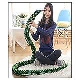 Zhuhaixmy Großes Plüsch-weiches Spielzeug-Tier-Schlange-Kissen-angefülltes Spielwaren-Geschenk Dekor