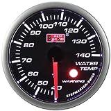 52mm Stepper Wassertemperaturanzeige mit Geber Fühler