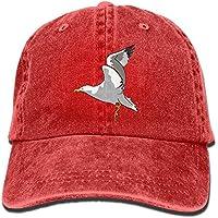 Wfispiy Sombrero de Gaviota de Gaviota Blanca Gorra de béisbol Ajustable para  Mujer X1299 5458fd045ca