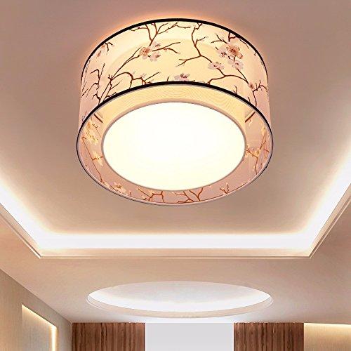 Deckenleuchte Wohnzimmer Schlafzimmer Tuch kunst Lampe Restaurant Hotel engineering Deckenleuchte rund Durchmesser 700 Deckenbeleuchtung (Kino Drucken)