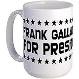 Dunkel Frank Gallagher for President Großer Becher Tasse groß - Standard