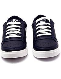 Menter Kids Sports Designer Casual Canvas/Mesh Shoes for Boys, Blue
