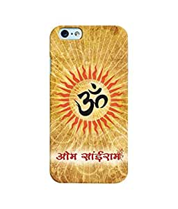 "NH10 DESIGNS 3D PRINTING DESIGNER HARD SHELL POLYCARBONATE ""OM"" PRINTED SHOCK PROOF WATER RESISTANT SLIM BACK COVER MATT FINISH FOR APPLE IPHONE 6/IPHONE6/IPHONE6S/IPHONE 6S"