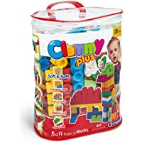 Clementoni Baby Clemmy Plus, bolsa de 60 bloques (14880)