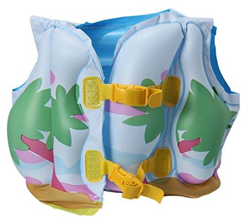 Lukis Kinder Schwimmweste Schwimmhilfe Aufblasbare 3-6 Jahre Alt Gelb