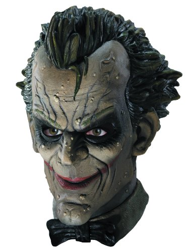 Batman Arkham City Joker Maske Für Erwachsene - Arkham City Batman Joker Maske