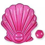 FAFY Inflatable Pink Shell Schwimmende Reihe Luftmatratzen Wasser Spielzeug Pool