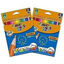 BIC 962701 Evolution Ecolutions Colouring Pencil - Multi-Colour