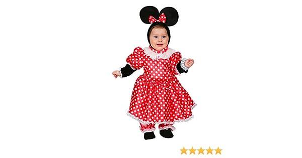 a8e8cdc8f70a VESTITO COSTUME Maschera di CARNEVALE NEONATA - TOPOLETTA MINNIE - Taglia 7/9  mesi - 53 cm: Amazon.it: Giochi e giocattoli
