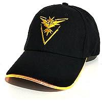 Llxln Luz Led Pokemon Cap Hat Neon Luz Colorida Hat Gorra De Béisbol Para Mujeres Mens