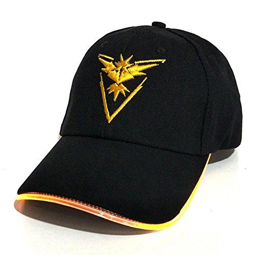 mon Kappe Hut Neon Buntes Licht Hut Baseball Cap Für Frauen Mens Ausgestattet Eyecatchb ()