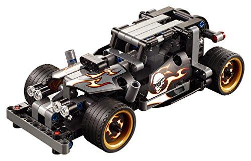 LEGO Technic - Bólido de Fuga, Juguete de Construcción de Vehículo de Gran Velocidad (42046)
