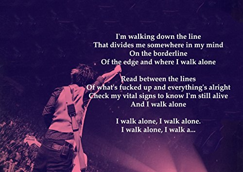 green-day-boulevard-di-rotture-dreams-lyrics-grande-in-metallo-motivo-rock-music-band-album-per-foto