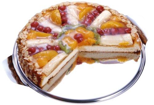 Chg 14020-07 - Bandeja para tartas y conservación de alimentos (acero inoxidable,...