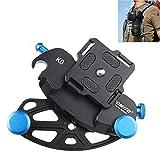 Fomito Kameragurt, mit Schnellverschlussriemen, 10,2 cm Schraube, polierte Oberfläche, für DSLR-Digitalkamers, SLR-Kameras, GoPro und weitere