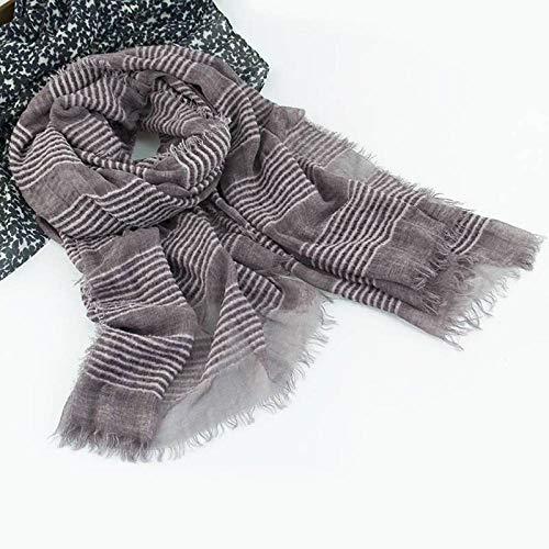 Tie-dye-sari (Hqysjin Damen Schals und Tücher Tie Dye Dirty Cotton Cotton Schal Dicker Schal Warm Acryl Mohair Sari,EIN,100 * 200cm)