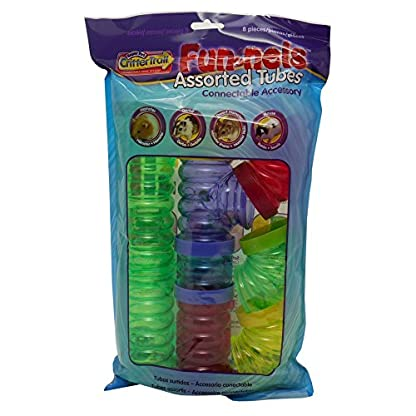 Kaytee/Superpet & Cages Critter Trail Fun-nel Connectable Colourful Plastic Tubing 1