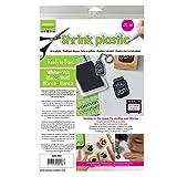 Vaessen creative AR3-600 Plastique Fou A4 avec 25 Feuilles Blanc 21 x 29,8 x 0,3 cm