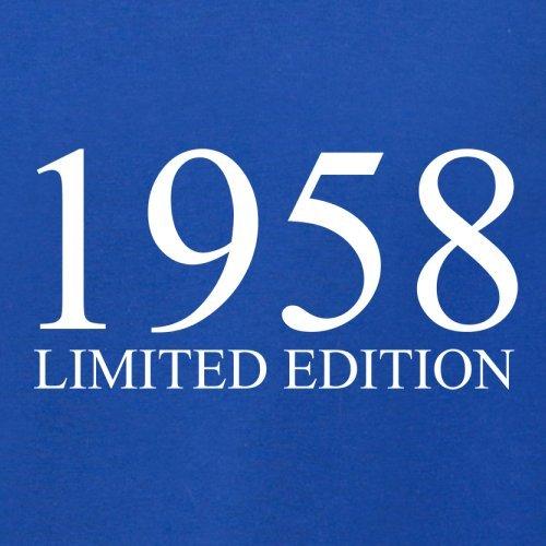 1958 Limierte Auflage / Limited Edition - 59. Geburtstag - Herren T-Shirt - 13 Farben Royalblau