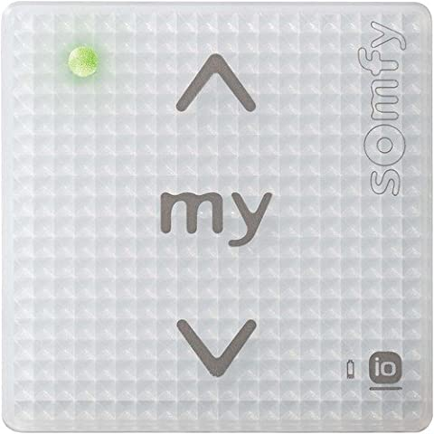 Interphone Somfy - Somfy 1811093 Pure Shine Commande murale mono-canal