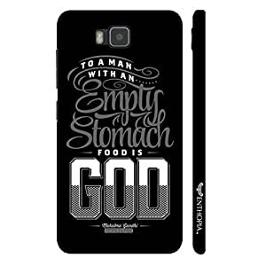 Huawei Y560 Empty Stomach designer mobile hard shell case by Enthopia