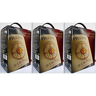 3-x-PICCINI-MEMORO-ROSSO-ITALIEN-Bag-in-Box-3L-Incl-Goodie-von-Flensburger-Handel