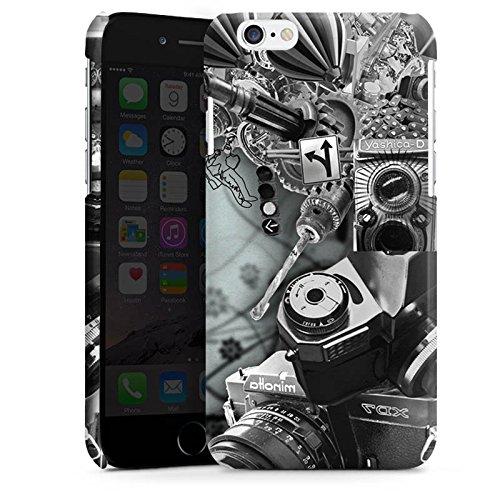 Apple iPhone 4 Housse Étui Silicone Coque Protection Photographie Caméra Robot Cas Premium brillant