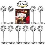 ULTNICE 10pcs Swirl Table numéro Photo porte est synonyme de rencontres Party mariages