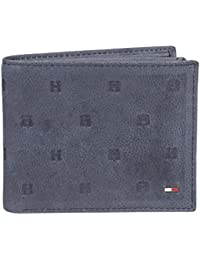Tommy Hilfiger Men's Leather Vaughn Embossed Bifold Wallet
